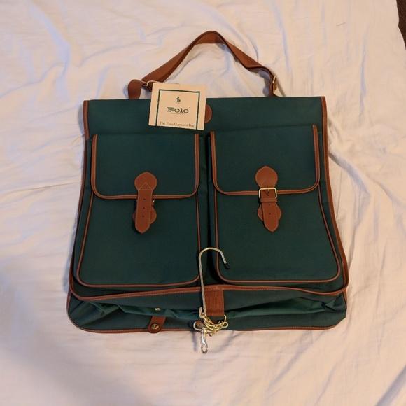 4e3f05f01e00 NWT Polo Ralph Lauren Garment Bag Green